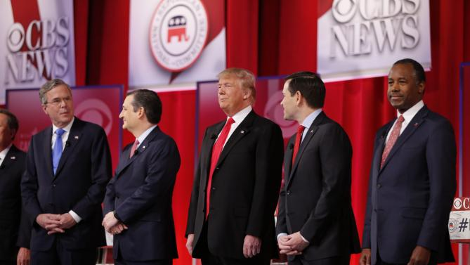 Full Video: CBS Republican Debate from South Carolina